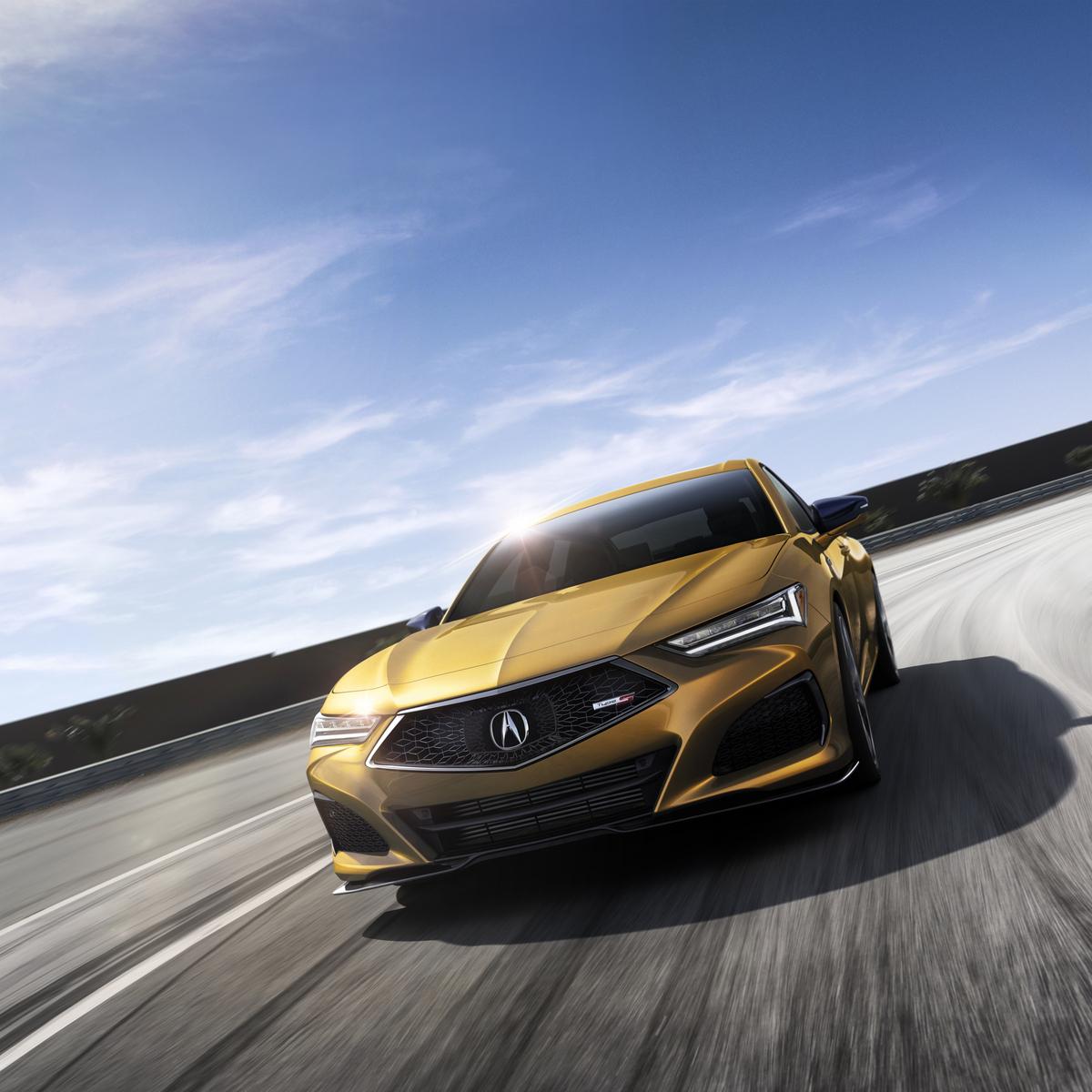 Acura Presentó Su Nuevo TLX 2021